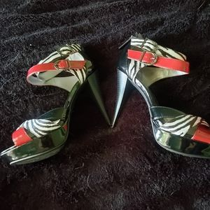 G BY Guess Women's Stiletto Sandals Size 9.5M